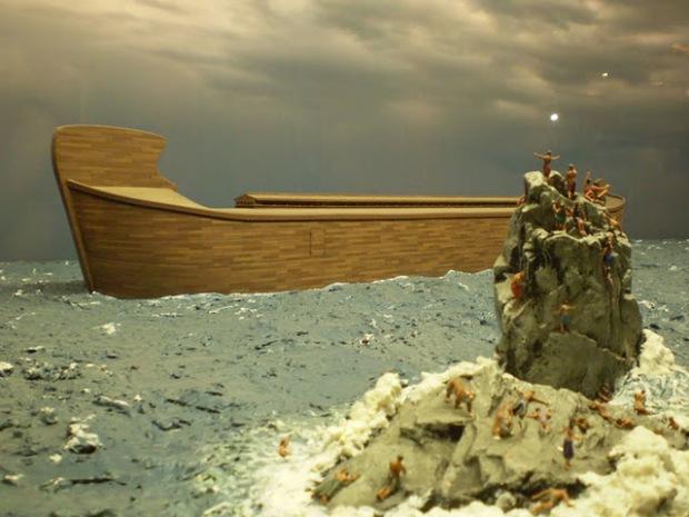 Kisah Penemu Bangkai Titanic Berburu Bahtera Nabi Nuh