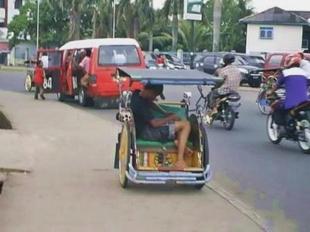 Becak Palembang