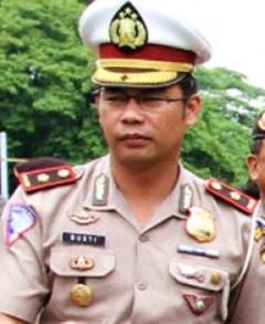 Kasat Lantas Polresta Palembang Kompol Gusti Maychandra SIk
