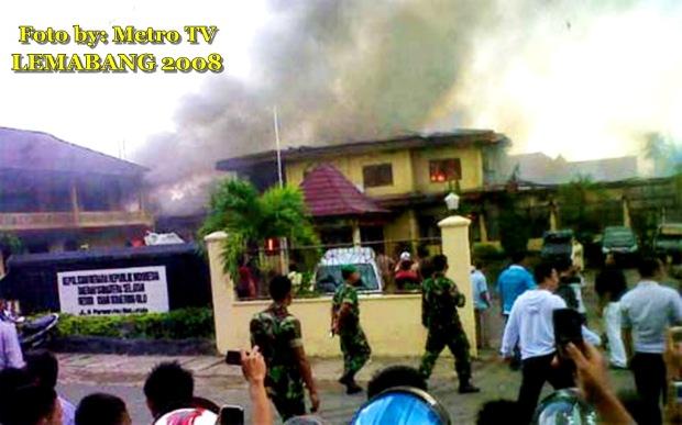 Polisi Lamban, Pemicu Bentrokan di Baturaja