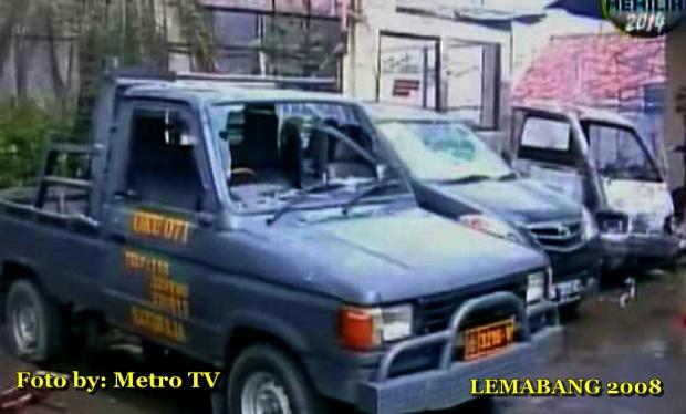 Sembilan Mobil dan 70 Sepeda Motor Terbakar di Mapolres OKU