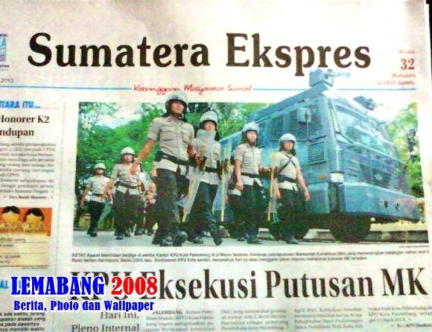 KPU Eksekusi Putusan MK