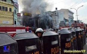Toko Jaya Raya Elektronik Terbakar