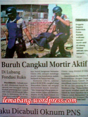 Buruh Cangkul Mortir Aktif
