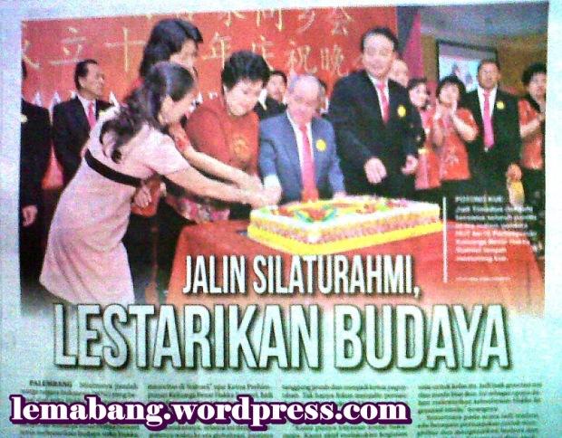 Jalin Silaturahmi, Lestarikan Budaya