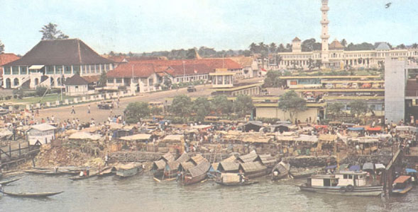Wako Bakal Hidupkan Pasar Terapung Sungai Musi