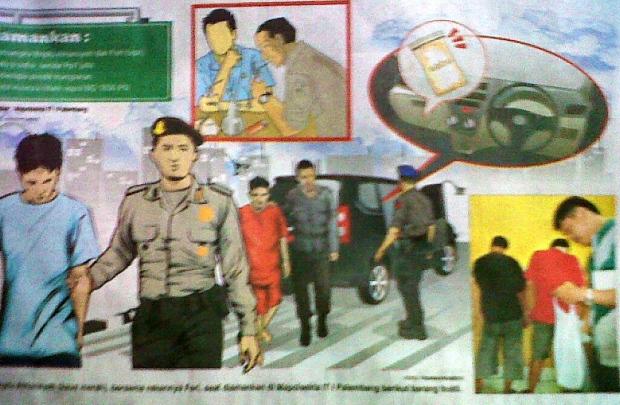 Oknum Polisi Simpan Sabu