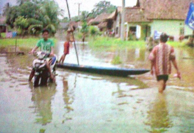 Dua Desa Kebanjiran
