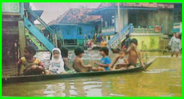 Banjir Melanda Banyuasin-Sekayu
