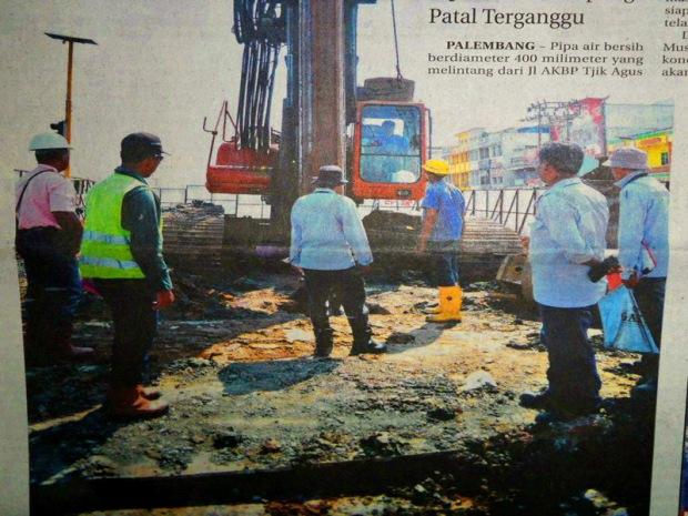 Sebulan Sulit Air Bersih