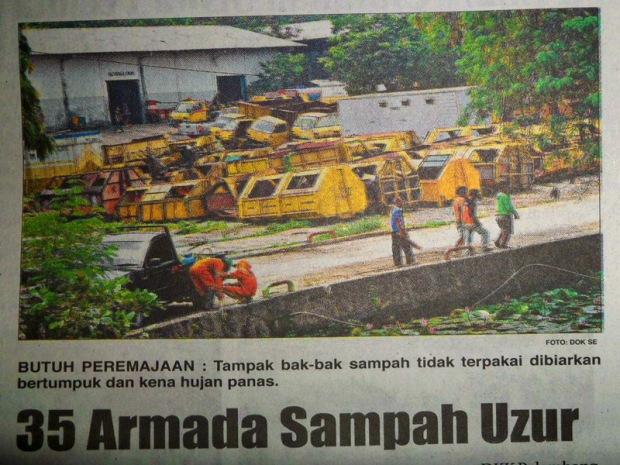 35 Armada Sampah Uzur