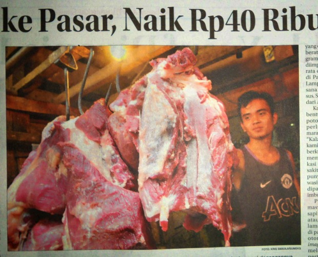 Menelusuri Mahalnya Harga Jual Daging Sapi di Pasaran