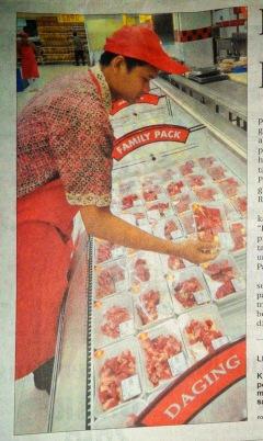 Daging di Mall Lebih Murah