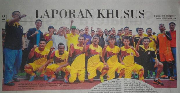Melihat Penyebab Merosotnya Prestasi Sriwijaya FC Musim 2014