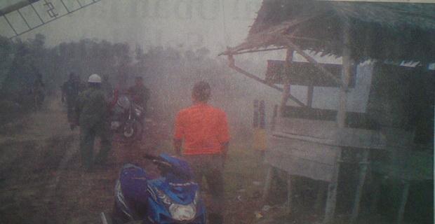 Ribuan Hektare Lahan Transmigrasi Terbakar