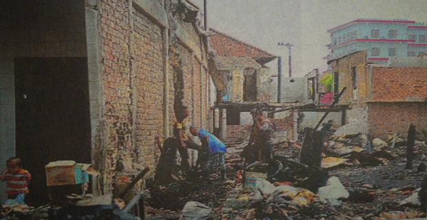 Duka Di Balik Musibah Kebakaran, Penyebab 130-an Jiwa Kehilangan Rumah di Kelurahan Talang Semut
