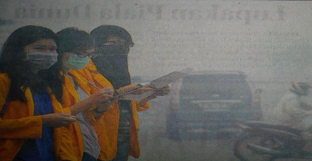 Kualitas Udara tidak Sehat, Kebakaran Lahan Makin Parah