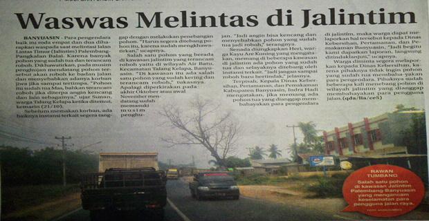 Waswas Melintas di Jalintim