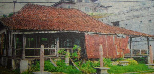 Bangunan Kedua Rumah Kapitan Hancur