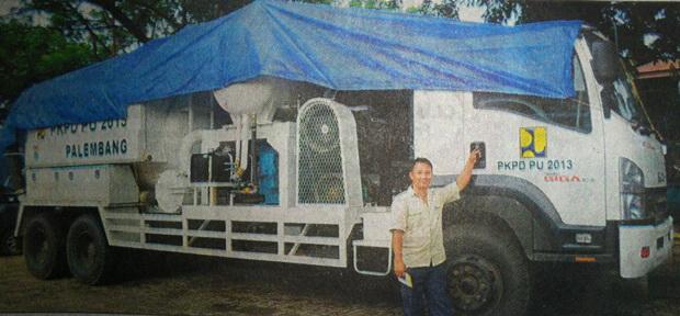 PU Bina Marga Kota Palembang Sabet Juara 2  Bidang Sanitasi dan Drainase