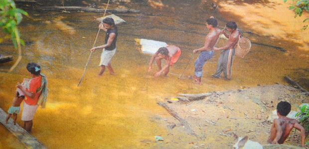 Kehidupan Suku Kubu Sungai Teras